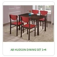 AB HUDSON DINING SET 1+4